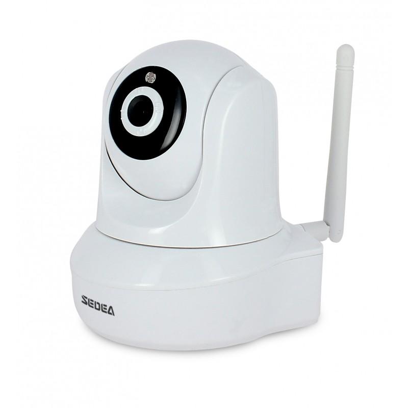 cam ra ip wifi motoris e hd 720p sedea cam ra de surveillance. Black Bedroom Furniture Sets. Home Design Ideas
